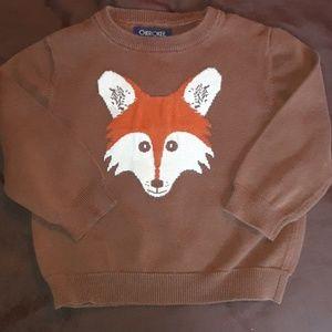 Cute fox sweater